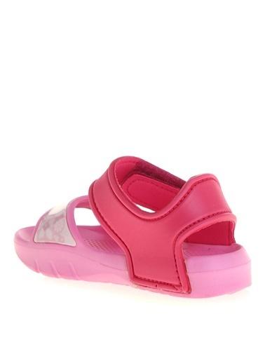 Pink Step Sandalet Fuşya